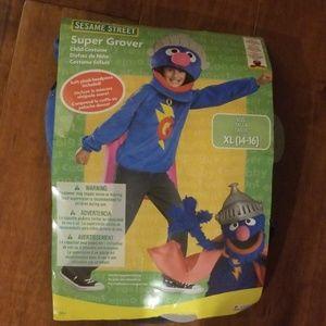 Super Grover XL (14-16) Kids Costume